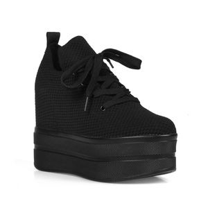4f1c3bbf0738 Anthony Wang Shoes - Papaya Women s Platform Hidden Wedge Sneakers